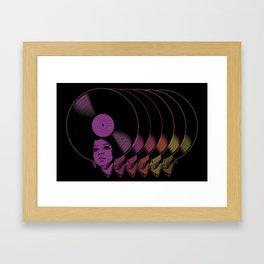 Afrovinyl Continuum Framed Art Print