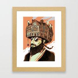 Stamford Hat Framed Art Print