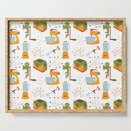 Retro Kitchen - Orange and Green Serving Tray