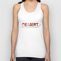 dessert Tank Tops featuring Dessert by olive yuvencia