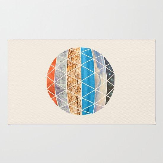 Eco Geodesic  Rug