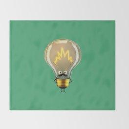 Lightbulb Throw Blanket