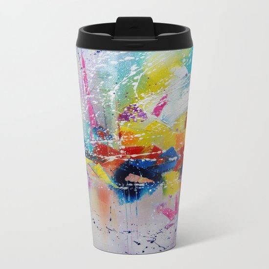 Travel of color Metal Travel Mug