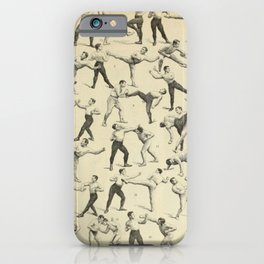 Antique Boxing iPhone Case