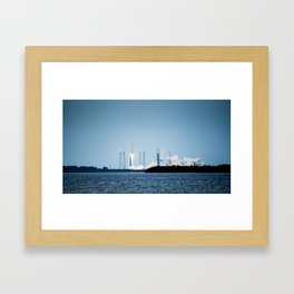 MAVEN launches on its way to Mars Framed Art Print