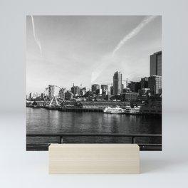 Seattle View Mini Art Print