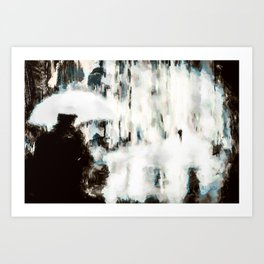 The government owns the rain Art Print