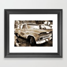 Tomorrow will not be the same Framed Art Print