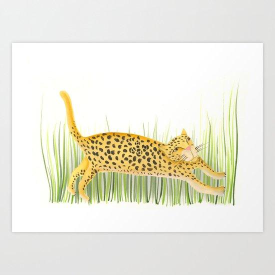 Yaguareté Art Print