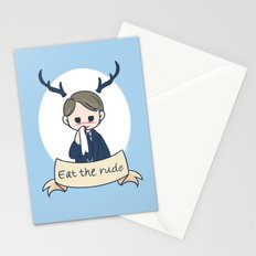 Hannibal - Eat the Rude  Stationery Cards