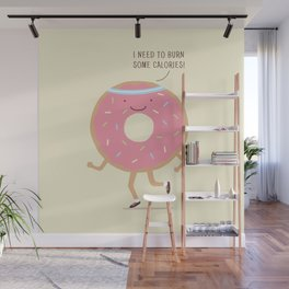 The Donut workout Wall Mural