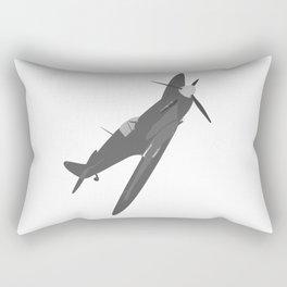 Silver Spitfire Rectangular Pillow