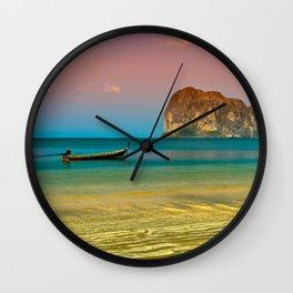 Trang Longboat Wall Clock