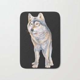 Timber Wolf Bath Mat