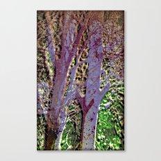 Purple tree Canvas Print