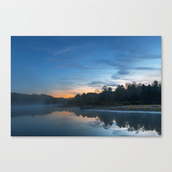 Pendleton Dawn Lake Canvas Print