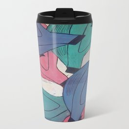 Passionfruit in three colours Travel Mug