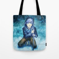 jack frost Tote Bags featuring Jack frost by keiden