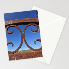 Metal - Rusted Gate Stationery Cards