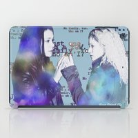 orphan black iPad Cases featuring Orphan Black, Who Am I? by Your Friend Elle