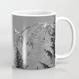 Gwin's Winter Vista - B & W Coffee Mug