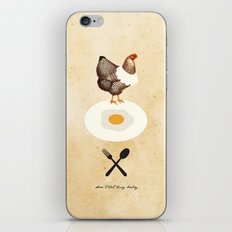 Don't Eat My Baby. iPhone & iPod Skin