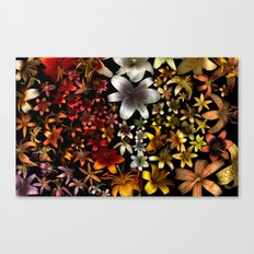 Morphological Riffing Canvas Print