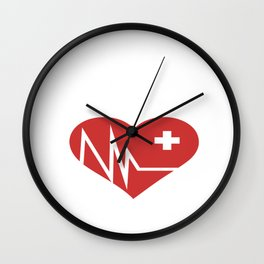 do not resuscitate for nurses, doctors and medical staff  Wall Clock