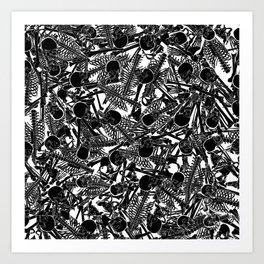 The Boneyard II Art Print
