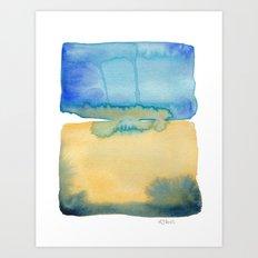 Color Field No. 2 Art Print