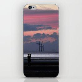 sunset romance iPhone Skin