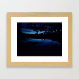 Night at the Grover Place Framed Art Print