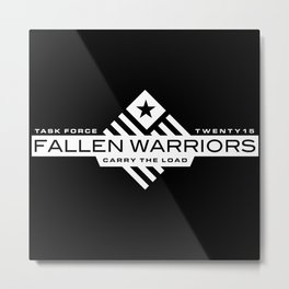 Task Force Fallen Warriors: Carry the Load 2015 Metal Print