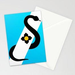 Madison Wisconsin Snake Flag Stationery Cards