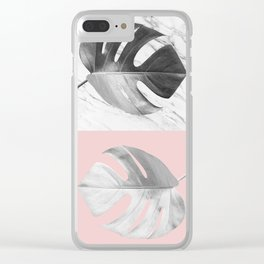Tropical plants XVII Clear iPhone Case