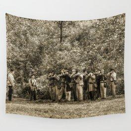 Civil War Soldiers Wall Tapestry
