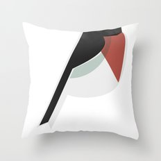 vatervogel Throw Pillow