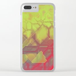 future fantasy eruption Clear iPhone Case