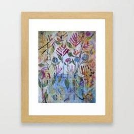 Floribunda Framed Art Print