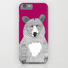 This bear iPhone Case