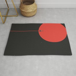 to new horizons Rug