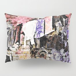 Sassi di Matera: laundry Pillow Sham