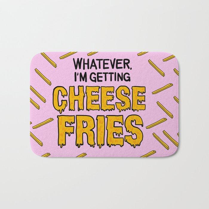 Cheese Fries Bath Mat