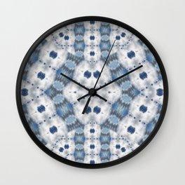 Blue Sky Kaleidoscope Photographic Pattern #2 Wall Clock