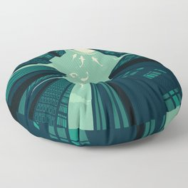Solitary Dream Floor Pillow