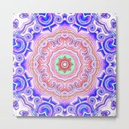 Star Flower of Symmetry 715 Metal Print