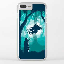 Return Of The Soulless Clear iPhone Case