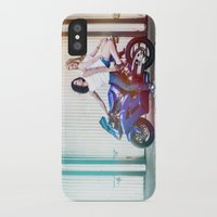 vampire diaries iPhone & iPod Cases featuring Motorcycle Diaries by Marcus Meisler