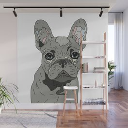 Frenchie Bulldog Puppy Wall Mural