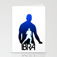 zlatan Stationery Cards featuring Zlatan Ibrahimovic by Sport_Designs